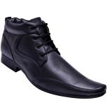 John Karsun Real Leather Lace Up (Black)