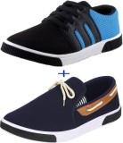 Delux Look Sneakers (Blue)