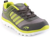 Zapatoz Greypgreen Running Shoes (Grey, ...