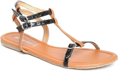 Dressberry Bellies(Black, Tan) at flipkart