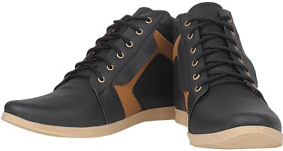 Urban Basket Groovy Black Casual Shoes
