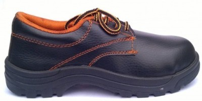 The Intellect Bazaar PU Leather Safety Shoes Boots