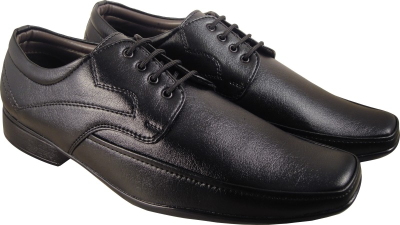 Action Synergy 3223 Black Formal Lace Up
