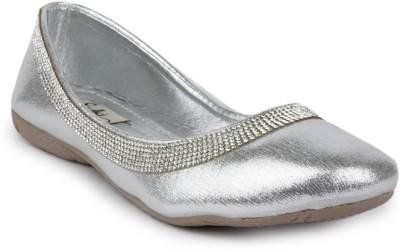 Sindhi Footwear Bellies(Silver)