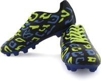 Vector X Football Shoes(Black, Blue)