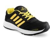 FastX Running Shoes (Black, Yellow)