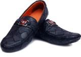 Buenos Black trendy Loafers (Black)