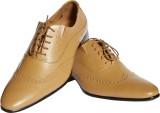 Stride Dude Party Wear Shoes (Tan)