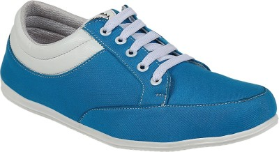 Vonc French Blue Canvas Shoes
