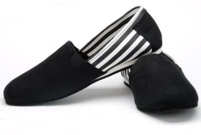 FUNK Kail Black Canvas Shoes