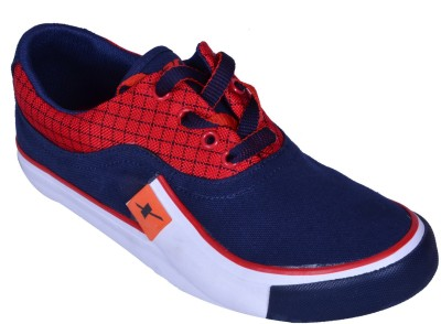 Sparx Sneakers(Blue, Red)