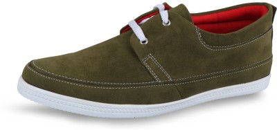Stud Olive Casual Shoes