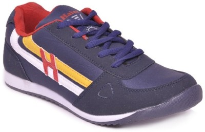 Haier Sports Hunter Navy Blue and Red Running Shoes