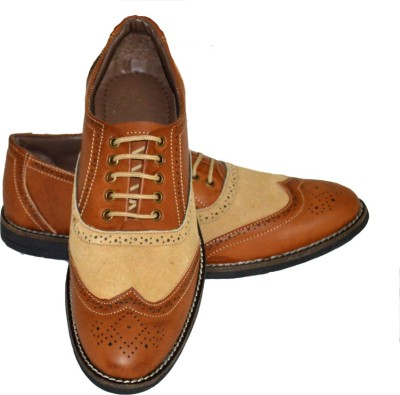 Fashion67 Stylish and Elegant Brogue Casuals