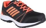 Bostan Running Shoes (Black, Orange)