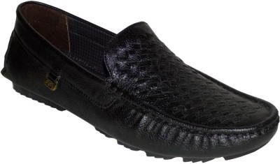 Style 98 Black Trendy Loafers