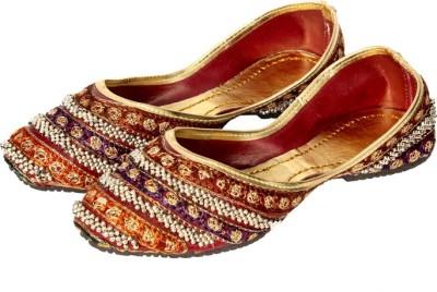Rajsthali Footwear Ghungroo Reshami Mojaris