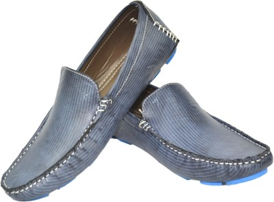 Strive Striped Loafers