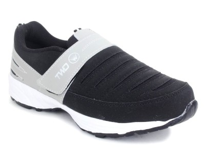 TOUCHWOOD Relaxer Black/Grey Sports Running Shoes
