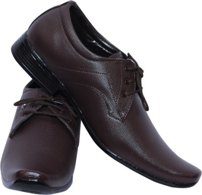Smoky Brown Party ware Formal Lace Up Shoes