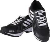 Lee Men Running Shoes (Black, White)