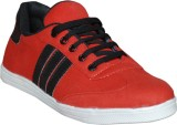 Glaze Casual Shoes (Red)