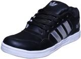 Triqer Sport Canvas Shoes (Black, Silver...