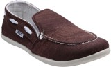 F22 F-22-02-1 Brown Slip On Casual Shoes...