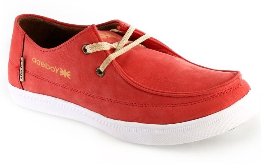 Adeboy Red Casual Shoes