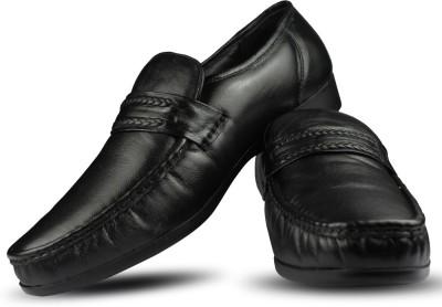 Blue Harpers Comfort Moccasin Black Slip On Shoes
