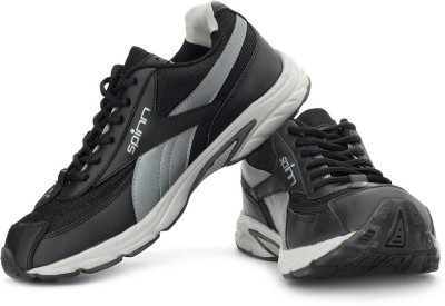 Spinn Running Shoes(Black, Grey)