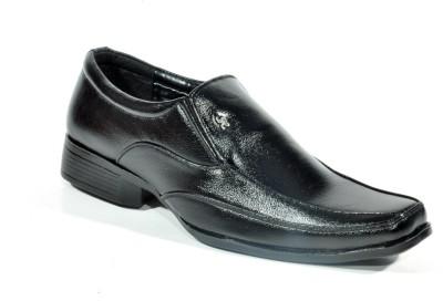 Big Wing Classic SmartBlack Slip On Shoes
