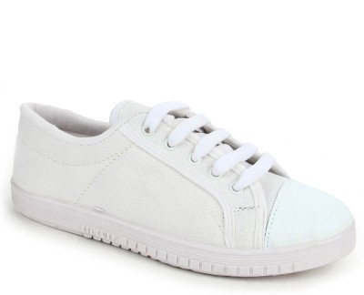 Gliders By Liberty Tenis-White Canvas Shoes