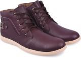 Andrew Scott Cherry Boots (Burgundy)