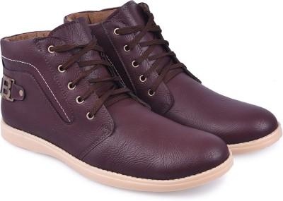 Andrew Scott Cherry Boots(Burgundy)