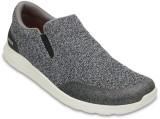 Crocs Kinsale Static Boat Shoes (Grey)