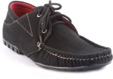 Zapatoz Black Thunder Derby Casual Shoes...