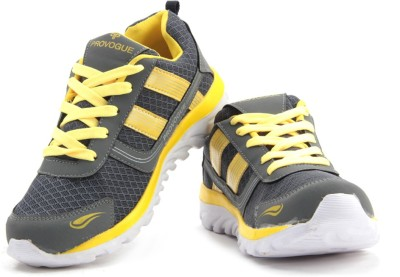 Provogue Sneakers(Grey, Yellow)