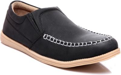 Juan David 60-Black Casual Shoes(Black)
