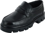 Chamois Safety shoes Mocassin (Black)
