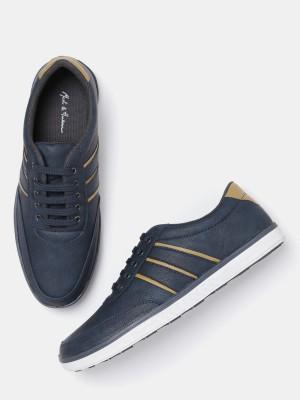 Mast & Harbour Sneakers(Navy) at flipkart