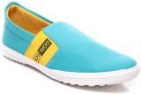 Goalgo Loafers (Blue, Yellow, White)