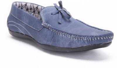 Quarks Blue Boat Shoes