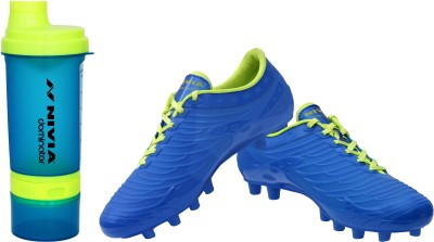 Nivia Dominator Combo of Football Shoe With Dominator Shaker Football Shoes