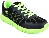 Action Shoes Running Shoes (Black, Green...