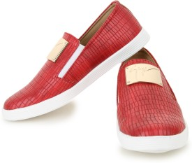 Shezone Loafers(Red)