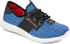 Asian Walking Shoes(Black, Blue)