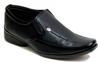 Oora Faux Leather Party Footwear Designer Formal Office Wear Slip On Shoes(Black) best price on Flipkart @ Rs. 699