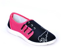 TRV Silk1 Casual Shoes(Pink, Blue)