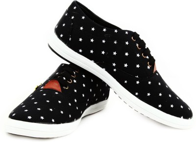 Sats Star Print Casual Shoes
